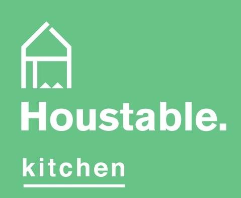 Houstable Kitchen APRON  GREEN