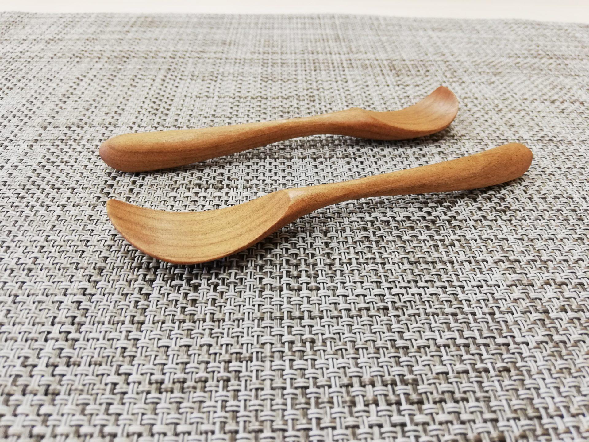 木製ジャムスプーン