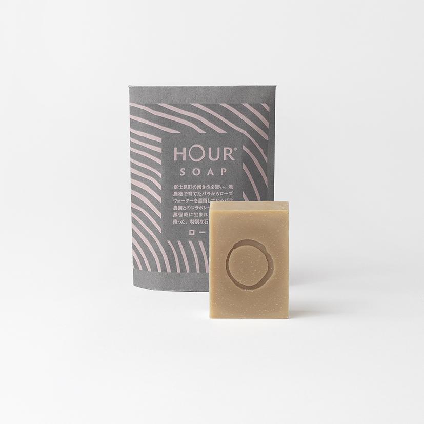 HOUR 手作り石鹸(ローズ)
