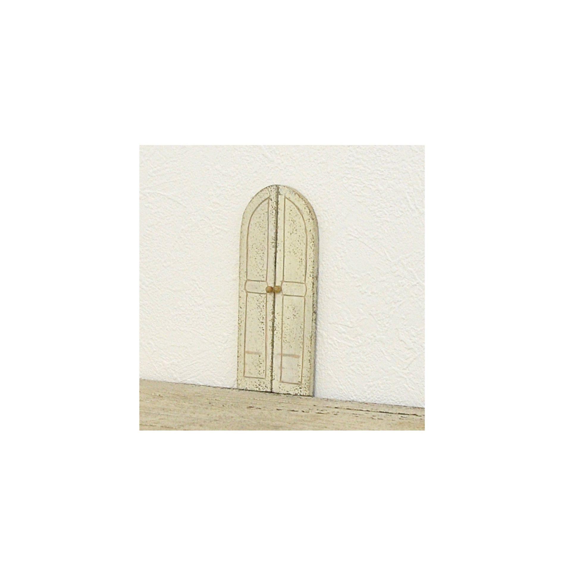 《ミニチュア》 アーチ型ドア